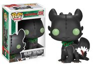 HOW TO TRAIN YOUR DRAGON 2 HOLIDAY TOOTHLESS POP! VINYL FIGURE