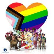 Gobber in Pride Month promo