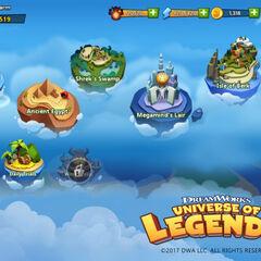En el juego Universe of Legends