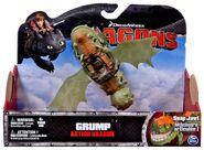 Grump Action Figure Package