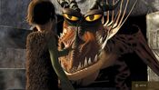 Httyd1 viking hiccup w hookfang gallery1
