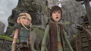 Hiccup answering Astrid's question