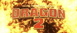How to Train Your Dragon 2 title card