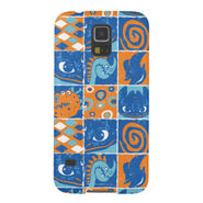 Dragon Patches Pattern Galaxy S5 Case