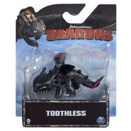 Mini Dragons Figure, Toothless