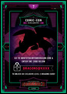 Comic-con Exclusive Toothless