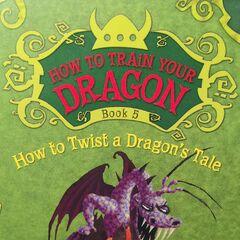 En una portada de Cómo Detener una Erupción de Dragones