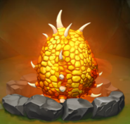 Fireworm Queen Egg