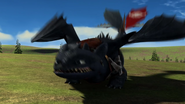 Toothless jumping