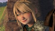 Astrid having heard Hiccup's response 2