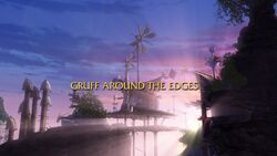 Gruff Around the Edges title card