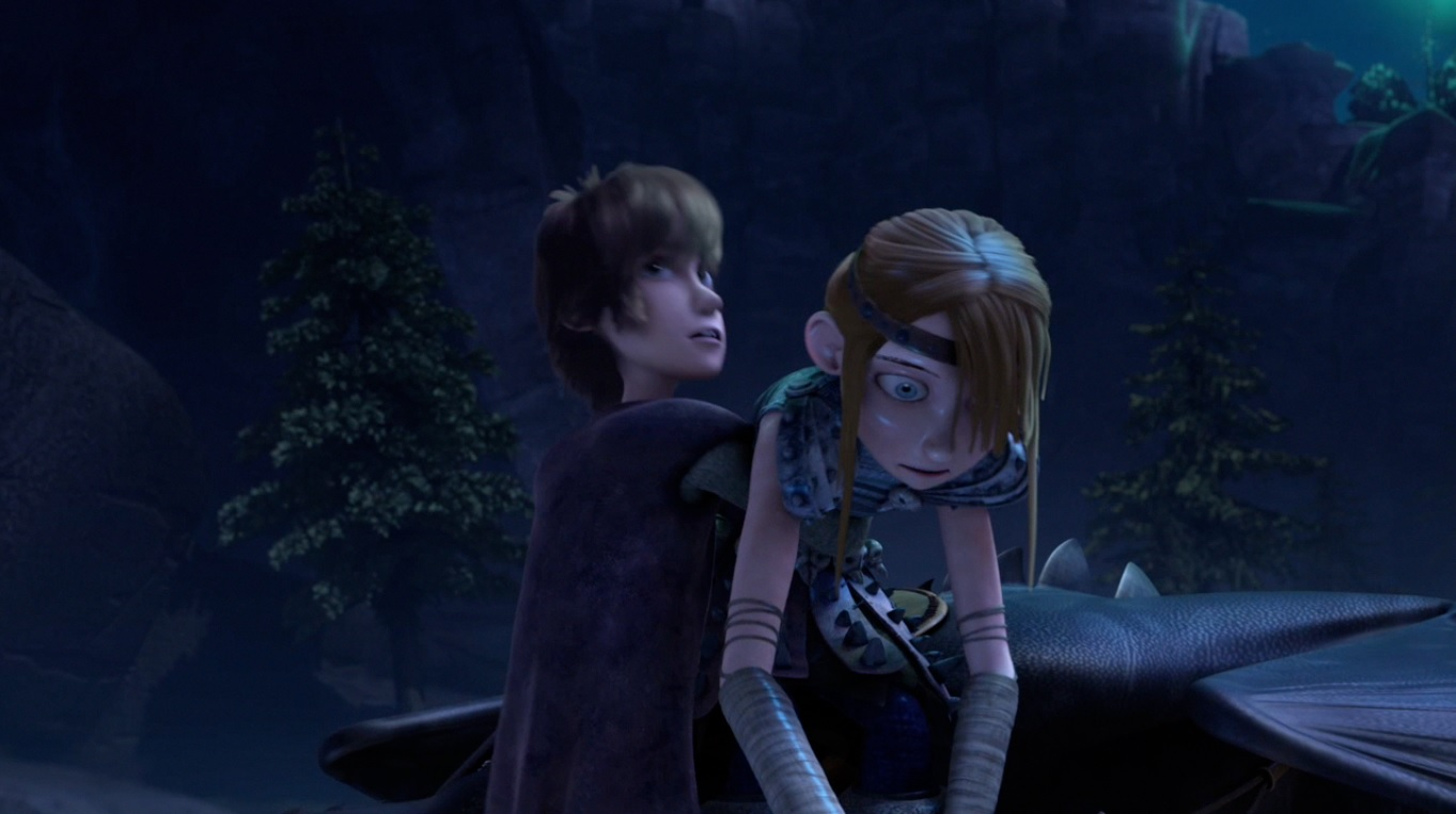 Astrid how to train your dragon kiss how to train your dragon you just gestured to all of me ccuart Choice Image