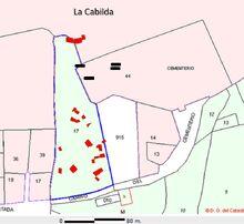 Plano prospección La Cabilda