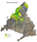 Mapa reservas biosfera 2019 Madrid