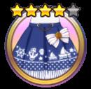 Marine skirt darkblue