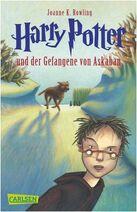 Harry Potter und der Gefangene von Askaban Buchcover