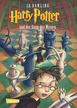 Harry Potter und der Stein der Weisen Buchcover
