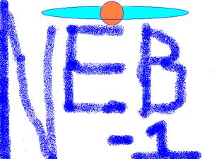 Nebusaur's graffiti sign