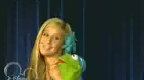Ashley Tisdale Kermit the Frog Bop to the Top