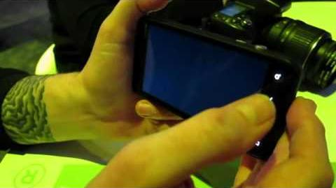 HTC EVO 3D first hands on! video Engadget