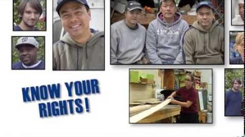 """""""Know Your Rights"""" - Department of Labor Wage & Hour Division"""