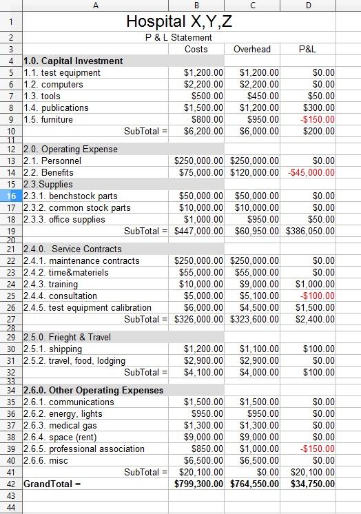 Profit & Loss Statement | HTM Wiki | FANDOM powered by Wikia
