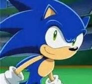 Sonic smiled 2