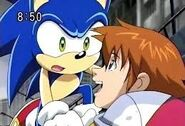 Sonic and Chris as friends