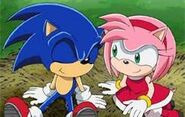Amy and Sonic are together
