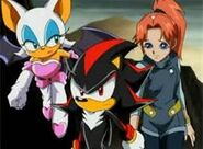 Rouge, Shadow and Molly