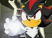 Shadow used the diamond