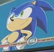 Sonic was on TV