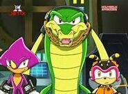 Espio, Vector and Charmy