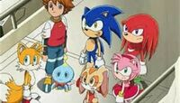 Sonic and his friends 2
