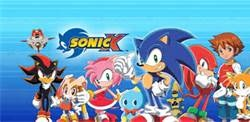 Sonic and his friends from Sonic X