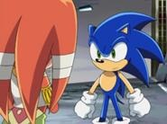 Tikal and Sonic