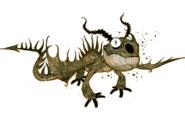 Dragons bod terror background sketch