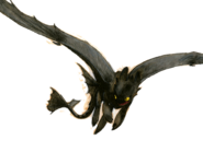 Dragons bod night-fury background sketch