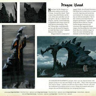 Первые версии Драконьего Острова