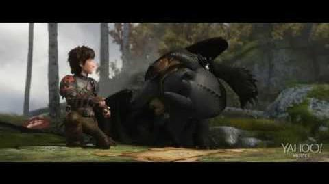 Как приручить дракона 2 Первые 5 минут .