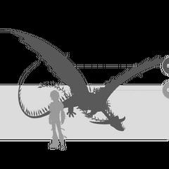 <i><b>Размер Иккинга с Разнокрылом.</b></i>