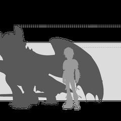 <i><b>Сравнение размеров Ночной Фурии (<a href=