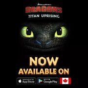 Titan Uprising CA release