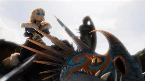 "How To Train Your Dragon 2 - Dragon Racing ""Black Sheep"" (2014) HD"
