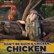 Задирака и курица 1