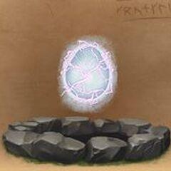 <i><b>Яйцо, из которого вылупилась Молния в сердце.</b></i>