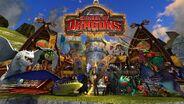 Новые драконы в Школе Драконов!