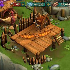 Малыш древоруба в игре Dragons Rise of Berk