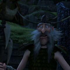 <i><b>Радость после того когда Стоик сказал, что выгоняет драконов с острова (5-6 серия I сезона).</b></i>