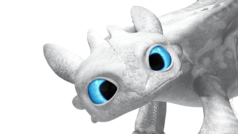 image white night fury polaris 12 png how to train your dragon